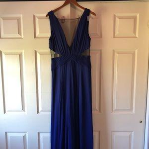 BCBGMaxAzria Blue Gown L